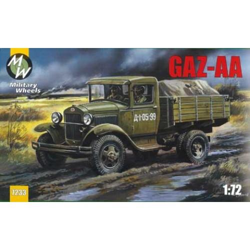 MWH-7233 1/72 GAZ AA model kit
