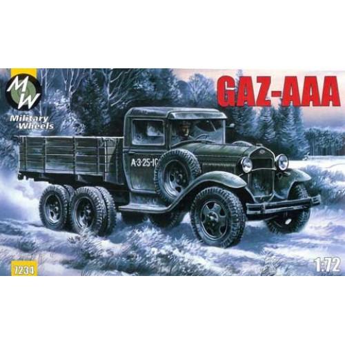 MWH-7234 1/72 GAZ AAA model kit
