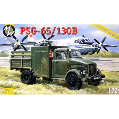 MWH-7238 1/72 PSG65/130B(airfield pump on the chassis of GAZ-51) model kit