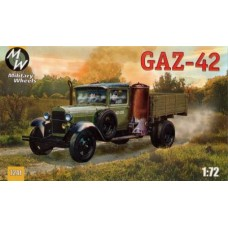 MWH-7241 1/72 Gaz-42 model kit