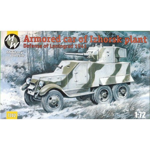 MWH-7242 1/72 Izhorskii bronevik model kit