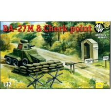 MWH-7247 1/72 Ba-27M and Check Point model kit