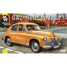 MWH-7248 1/72 Gaz-M20 Pobeda model kit