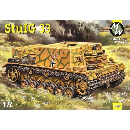 MWH-7249 1/72 SiG-33 model kit