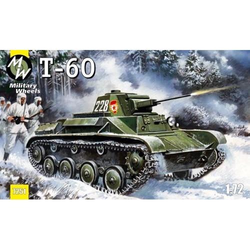 MWH-7251 1/72 T-60 model kit