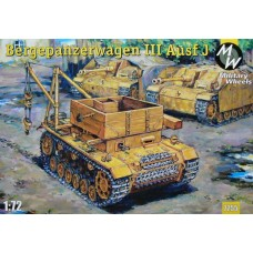 MWH-7255 1/72 Bergepanzerwagen TIII model kit