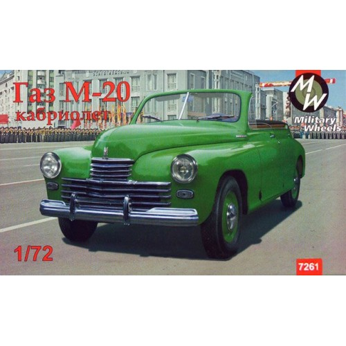 MWH-7261 1/72 Gaz-M20 Pobeda model kit