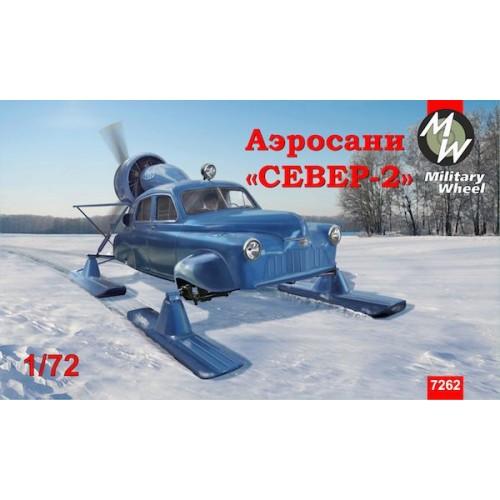 MWH-7262 1/72 Sever-2 model kit