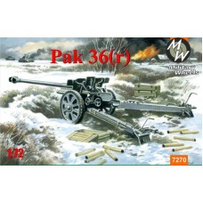 MWH-7270 1/72 Pak-36R model kit
