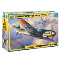 ZVD-4816 1/48 Messerschmitt Bf-109G-6 German WW2 Fighter model kit