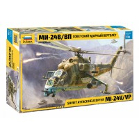 ZVD-4823 Zvezda 1/48 Mil Mi-24V / Mi-24VP Hind Russian Attack Helicopter model kit