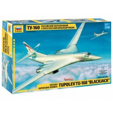 ZVD-7002 1/144 Tupolev Tu-160 Strategic Bomber model kit
