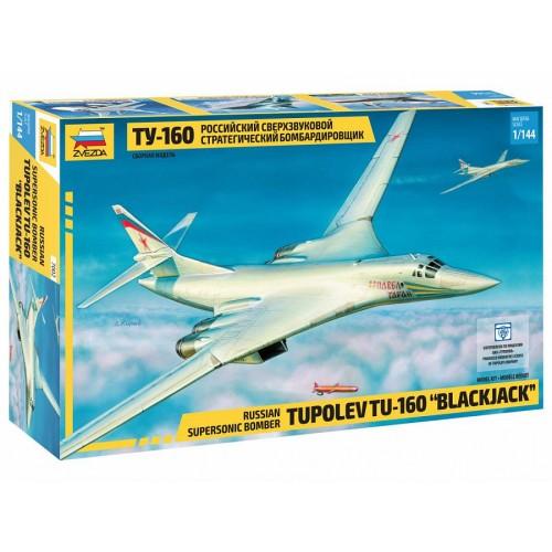 ZVD-7002 1/144 Tupolev Tu-160 Strategic Bomber model kit