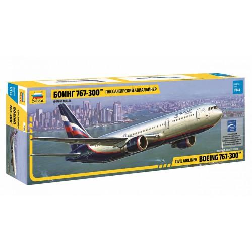 ZVD-7005 1/144 Boeing 767-300 Jet Passenger Airliner model kit