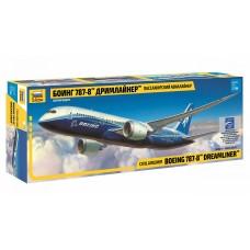 ZVD-7008 1/144 Boeing 787-8 Dreamliner Jet Passenger Airliner model kit