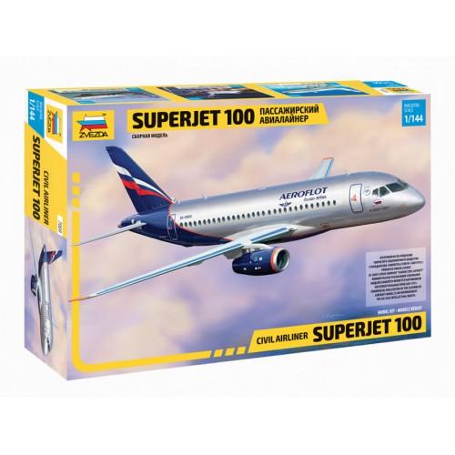ZVD-7009 1/144 Sukhoi Superjet 100 Jet Passenger Airliner model kit
