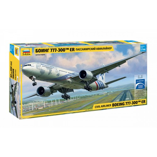 ZVD-7012 1/144 Boeing 777 Jet Passenger Airliner model kit