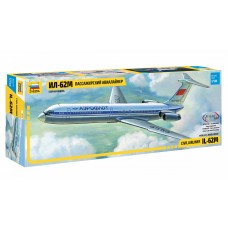 ZVD-7013 1/144 Ilyushin Il-62 Jet Passenger Airliner model kit