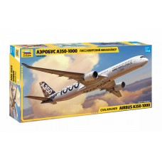 ZVD-7020 1/144 Airbus A-350-1000 Jet Passenger Airliner model kit