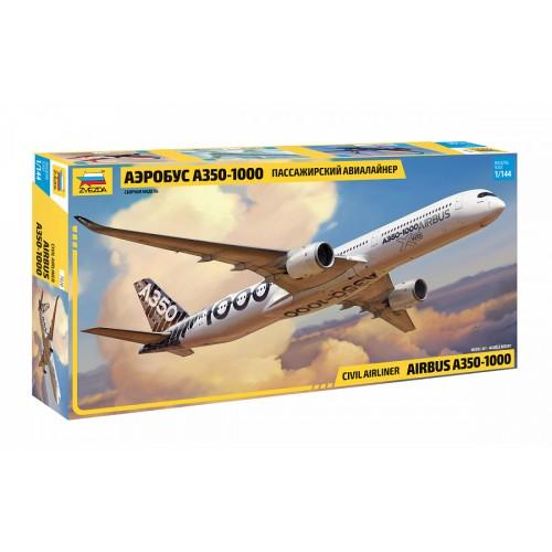 ZVD-7020 1/144 Airbus A-350-1000 Jet Passenger Airliner model kit
