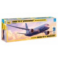 ZVD-7021 1/144 Boeing 787-9 Dreamliner Jet Passenger Airliner model kit