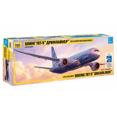 ZVD-7021 1/144 Boeing 787-9 Dreamliner Jet Passenger Airliner model kit