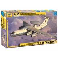 ZVD-7024 1/144 Ilyushin A-50 AWACS Aircraft model kit