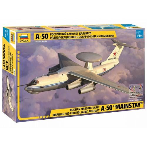 ZVD-7024 1/144 Ilyushin A-50 AWACS Aircraft model kit