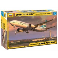 ZVD-7026 1/144 Boeing 737-8 MAX Jet Passenger Airliner model kit