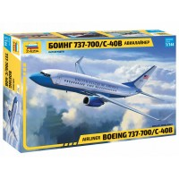 ZVD-7027 1/144 Boeing 737-700 Jet Passenger Airliner model kit
