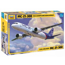 ZVD-7033 Zvezda 1/144 Irkut MC-21 Russian Jet Passenger Aitliner model kit