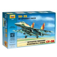 ZVD-7240 Sukhoi Su-35 Multi-role air superiority Russian fighter model kit
