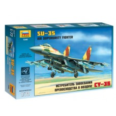 ZVD-7240 1/72 Sukhoi Su-35 Multi-role air superiority Russian fighter model kit