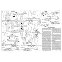 PLS-72098 1/72 Ilyushin Il-2 Shturmovik Full Size Scale Plans (2xA2 p)